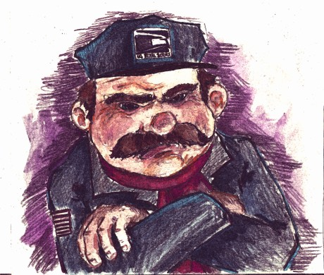 The Grouchy Postman (Picklesoda Poetry Project 4)