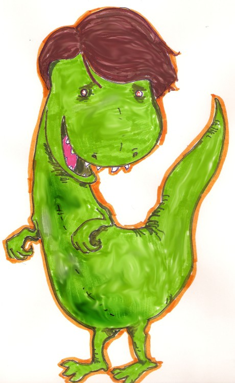 Wigasaurus Rex (Picklesoda Poetry Project #5)